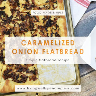 Caramelized Onion Flatbread Recipe