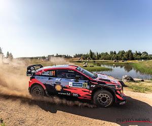 Neuville eindigt derde in Rally van Estland en doet zo beter dan voornaamste concurrenten, Toyota-rijder pakt de winst