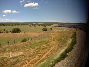Photo: On the train to Las Vegas, NM