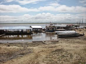 Photo: Harbor in Iquitos
