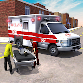 City Ambulance Emergency Rescue Simulator