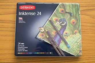 Photo: Derwent Inktense Watercolour Pencils http://www.parkablogs.com/node/11491