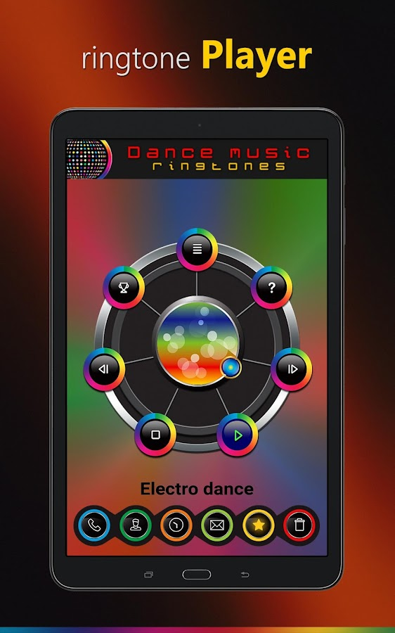 Dance music ringtones- screenshot