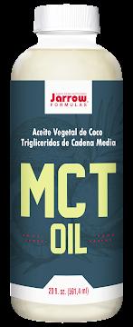 Aceite Vegetal de Coco   MCT Jarrow Formulas x 591,4ml
