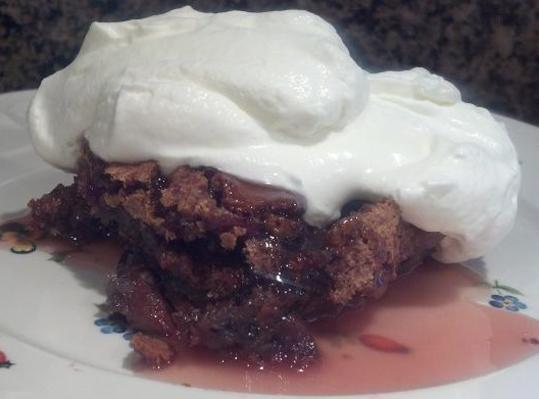 Heavenly Sticky Cherry Pudding Recipe