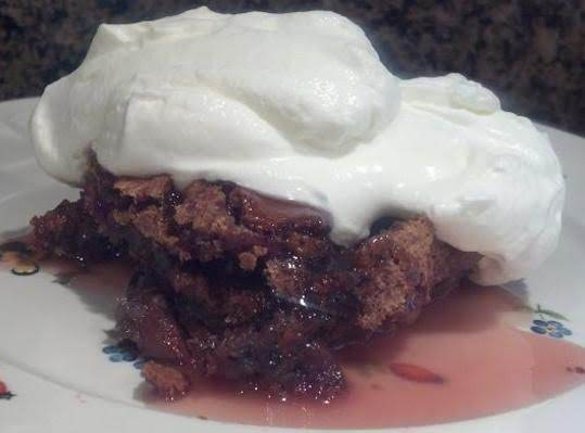 Heavenly Sticky Cherry Pudding Recipe