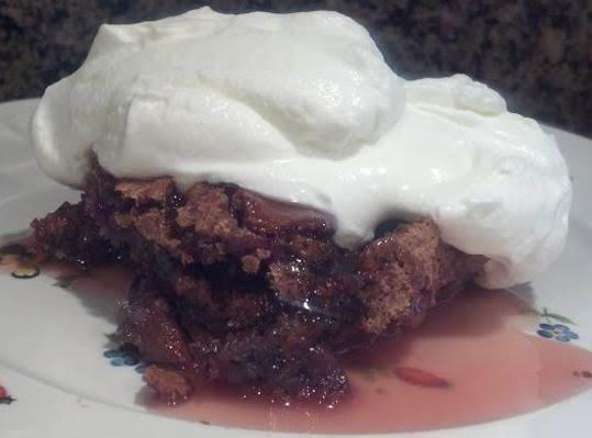 Sticky Cherry Pudding