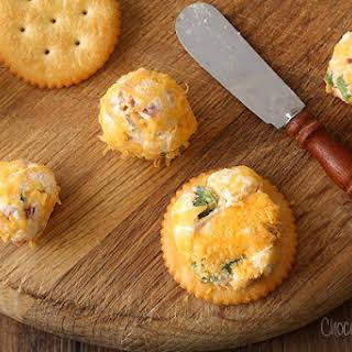 Mini Jalapeno Popper Cheese Ball Bites.