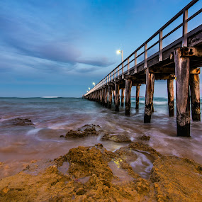 the pier and the sea by Jaime Gomez - Buildings & Architecture Other Exteriors