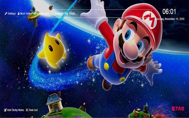 Mario Wallpapers Mario New Tab HD