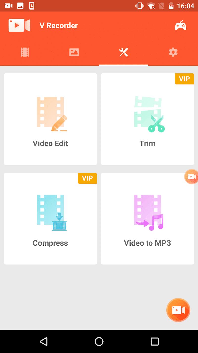 Screen Recorder V Recorder - Audio, Video Editor Screenshot 6