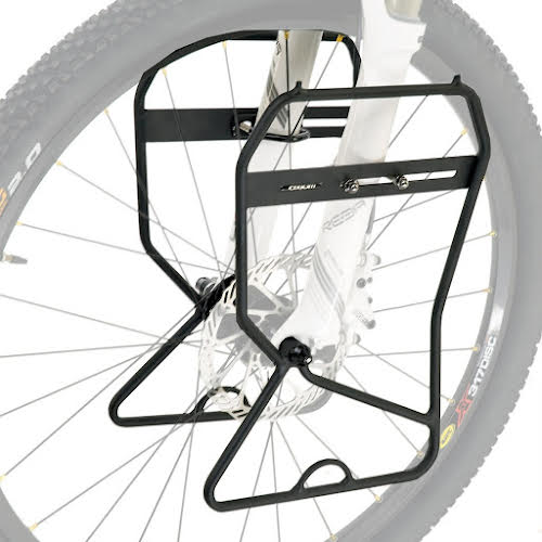 Axiom Journey Suspension and Disc Lowrider Front Rack