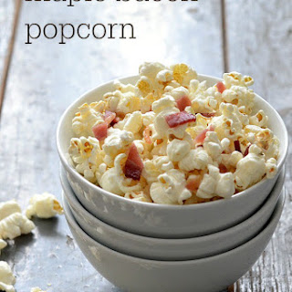maple bacon popcorn real food real deals bacon maple syrup salt ...