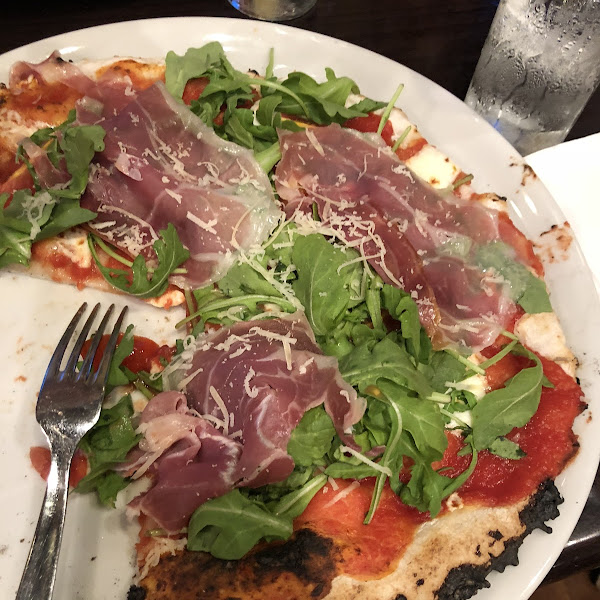 This is the GF pizza Della casa! Amazing!