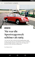 Screenshot of WELT Edition Digitale Zeitung