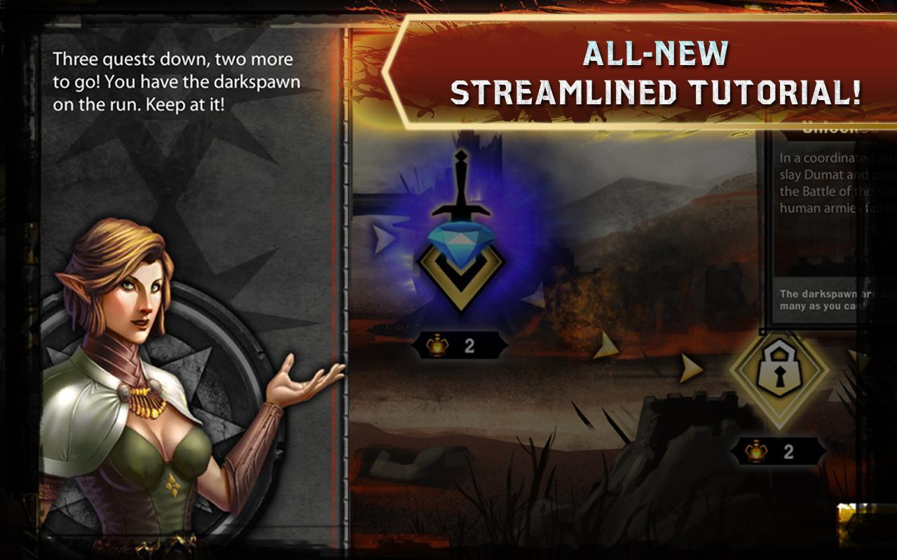 Heroes of Dragon Age screenshot #4