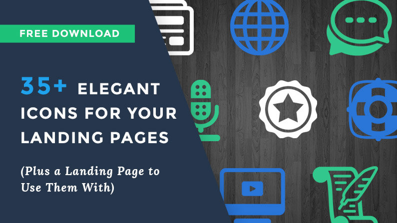 35+ Elegant Web Icons for Your Landing Pages