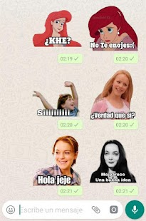 Frases de Películas en español. Stickers WhatsApp Screenshot