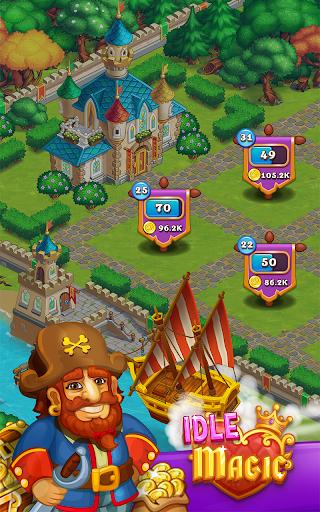 Idle Magic:Builder,Miner,Farmer at Click Away City 1.17 screenshots 2