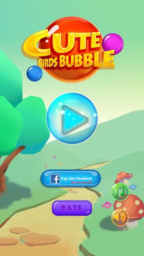 Cute Birds POP Bubble Shooter
