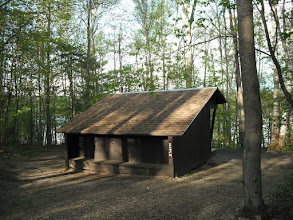 Photo: Maple lean-to at Brighton State Park by Josh Rhoades