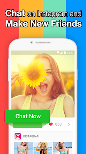 InstaMessage - Chat, meet, dating- screenshot thumbnail