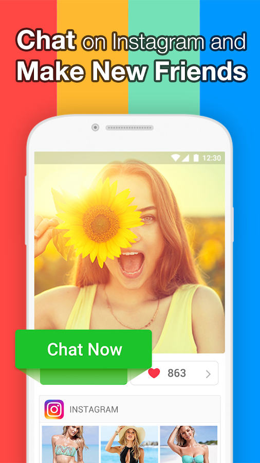 InstaMessage-Chat,meet,dating- screenshot