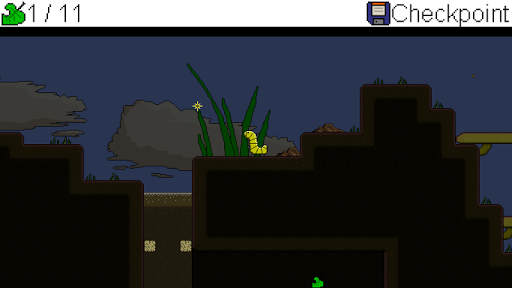 Caterpillar's Micro Adventure Demo Screenshot