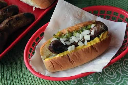 "Click Here for Recipe: Brats & Beer On The Grill ""This is..."