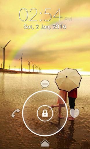 Love Heart Lock Screen