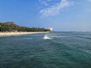Photo: Hawaiian beach (Waikiki).