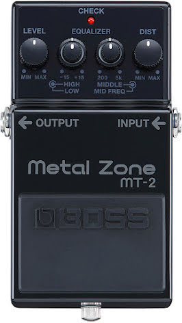 Boss MT-2-3A Metal Zone Distortion
