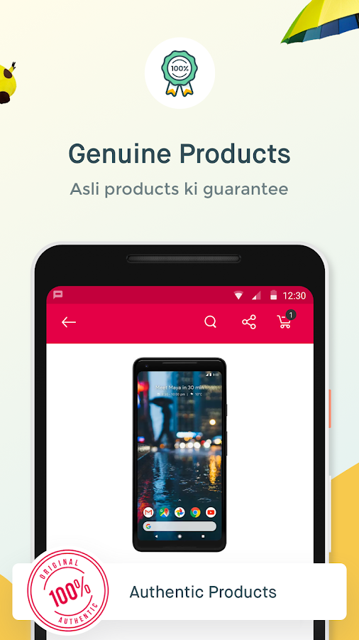 Screenshots of Snapdeal Online Shopping App for Quality Products for iPhone