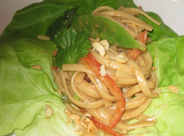 Asian Inspired Peanut Noodles Recipe
