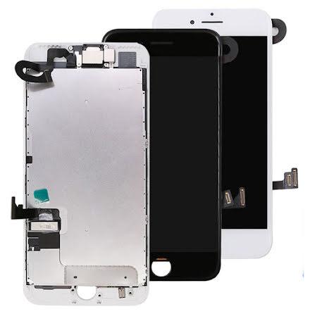 iPhone 7 komplett LCD skärm med smådelar OEM