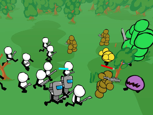 Stickman gun battle simulateur  captures d'écran 6
