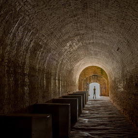 Light at the end of the tunnel by Gabriela Zandomeni - Buildings & Architecture Decaying & Abandoned