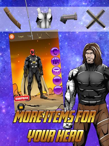Avengers Infinity Wars SuperHero Creator 1.3 screenshots 3