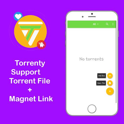 Torrenty-Torrent Pro Client BitTorrent Downloader 2.0. screenshots 5