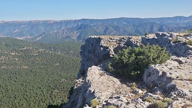 Photo: Vistas desde la cara Oeste del Molejón.