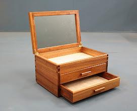 Photo: Jewelry box. Black wattle Christina