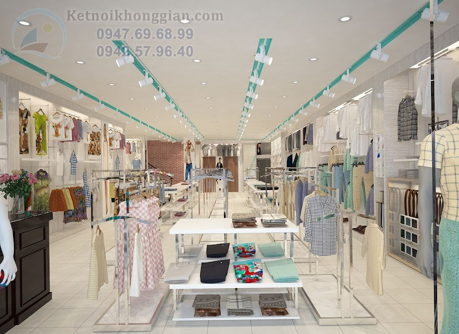 thiết kế shop thời trang hiện đại 15