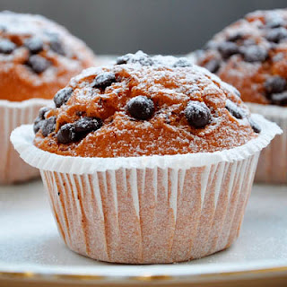 Chocolate Chip Coconut Muffins.