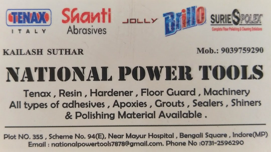 National Power Tools - Construction Material Wholesaler in