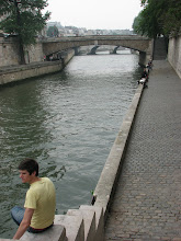 Photo: On the Seine.  The bridges all over the city were one of my favorite parts.