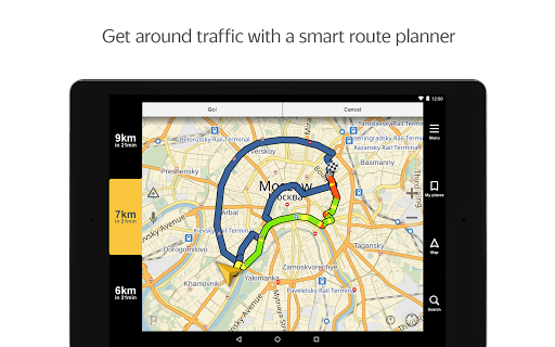 Yandex.Navigator app (apk) free download for Android/PC/Windows screenshot