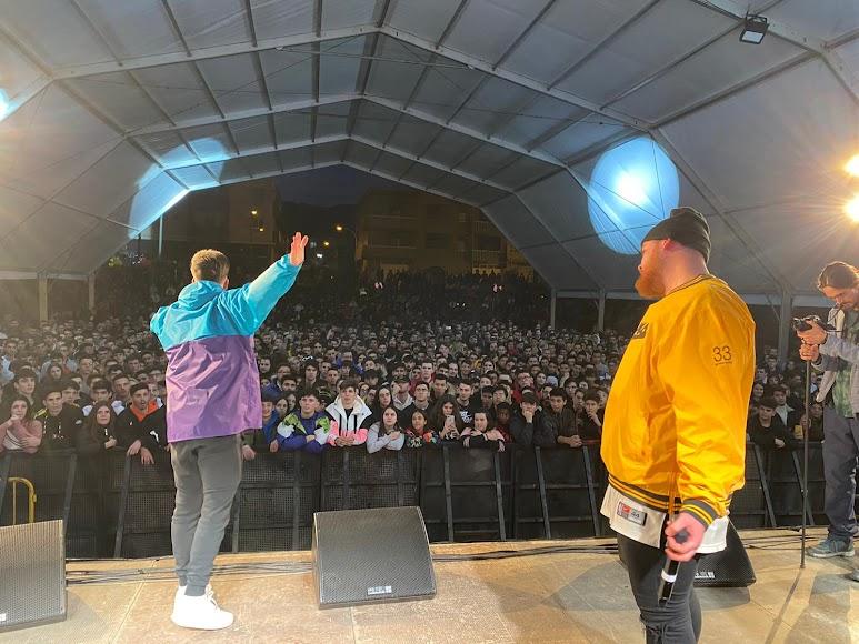 Gran afluencia de público en las actividades del Hip Hop Street.