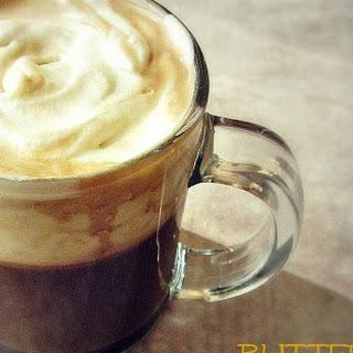 Hot Butterscotch Latte.