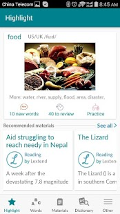 Lextend for learning languages- screenshot thumbnail