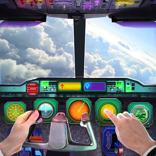Airplane Cabin Flight simulator 3D